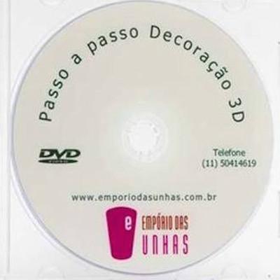 Dvd passo a passo para Decoração 3d